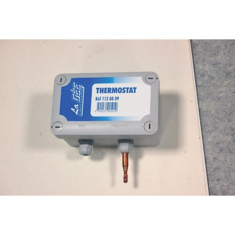thermostat 220v 16a pour alimentation hors gel la g e