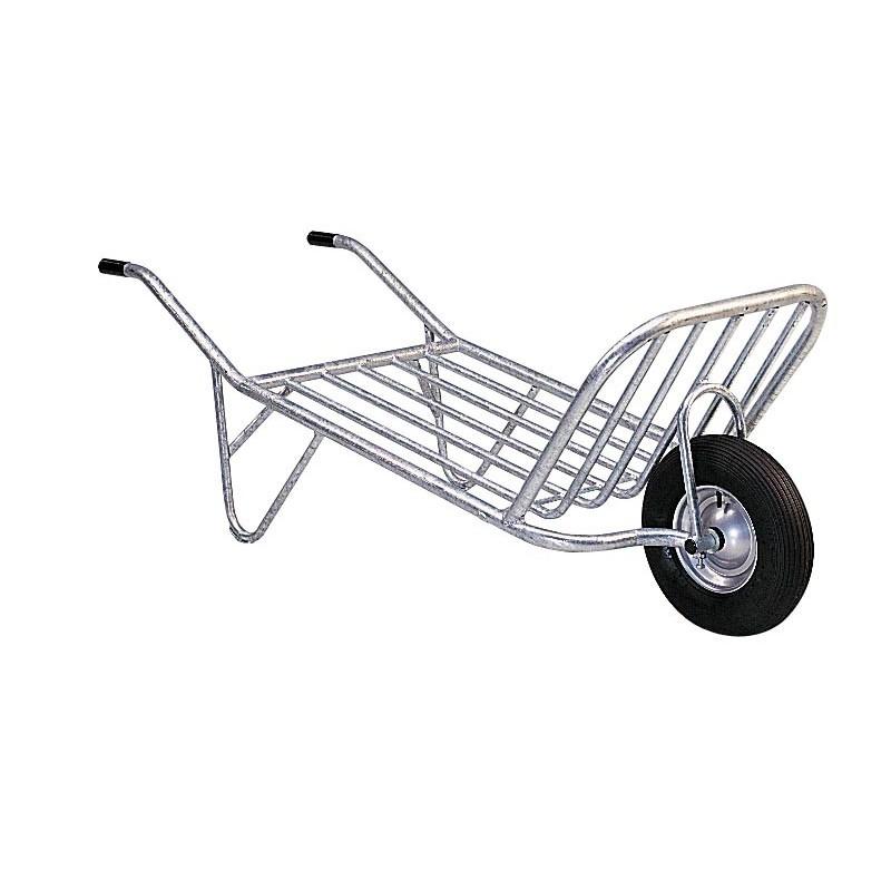 Brouette 1 roue monobloc - chevaux la gée