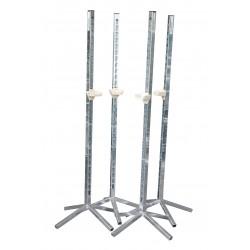 chandelle métallique 4 pieds H 1.70 M - obstacle chevaux la gée