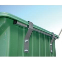 Protection métallique avant - cuves brouettes 450 L et 650 L