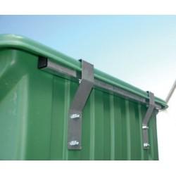Protection métallique avant - cuves brouettes 450 L et 650 L chevaux la gée