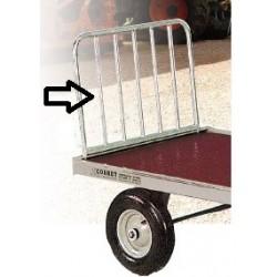 Échelon galva pour chariot 4 roues