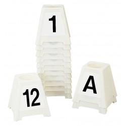 Obstacle chevaux : Plot supplémentaires, lettre ou numéro au choix : 13,14,15 et C,D  la gée