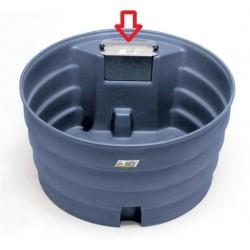 bac à eau chevaux prairie Super bac avec rebord a cordon: Option Flotteur niveau constant la gee