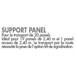 Support Panel  chevaux la gée