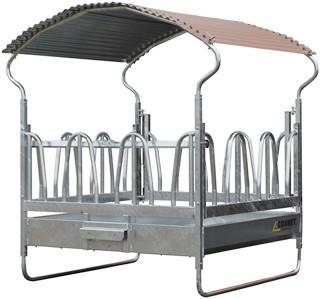 Râtelier métallique - 12 places