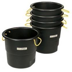 Bassine à poignée 90 litres pour chevaux la gée