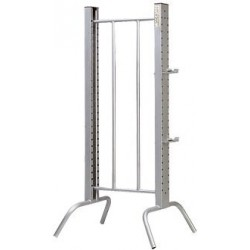 Galvanized Double Jump Pole Post