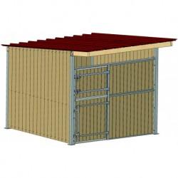 BOX 3X3 M TOITURE SIMPLE...