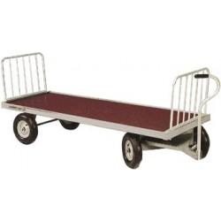chariot aliment brouette 4 roues chevaux la gée