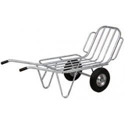 2 Wheels Barrow Galvanized