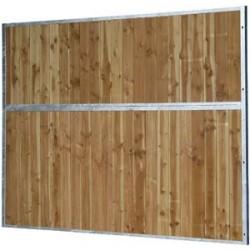 Séparation pleine bois 3 M   la gée