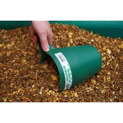 Mesure à grains en résine rotomoulée